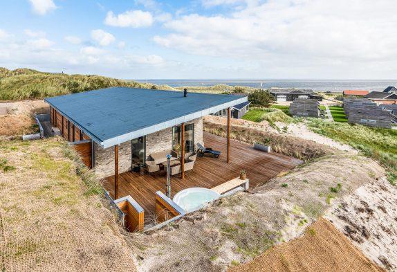 Exklusives Ferienhaus mit Sauna, Whirlpool und Panoramaaussicht
