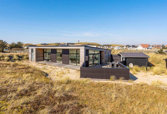 Topmodernes Ferienhaus mit Aktivitätsraum und nah am Meer