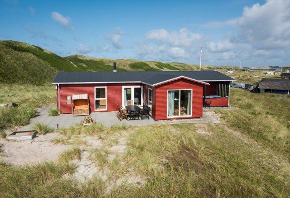 Familienurlaub in gemütlichem Ferienhaus an den Dünen