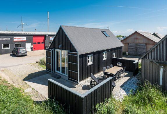 Charmantes kleines Ferienhaus in Hvide Sande