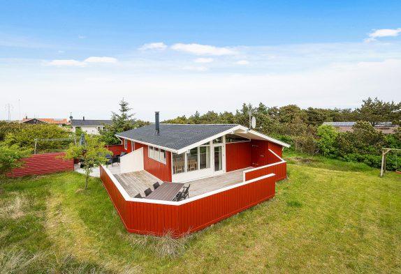 Charmierendes Ferienhaus mit Kamin und Platz für 6 Personen