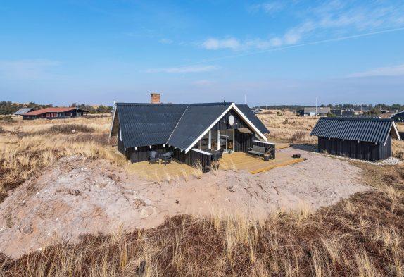 Strandnahes und gemütliches Ferienhaus mit Sauna