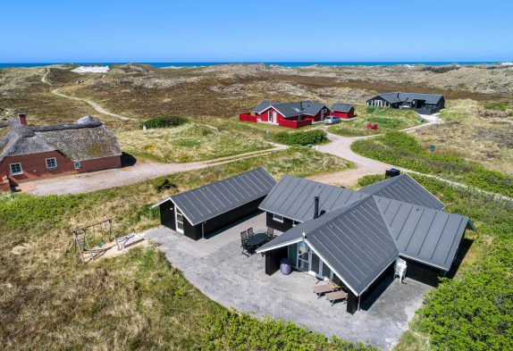 Strandnahes Aktivitätshaus mit Infrarotsauna und Whirlpool