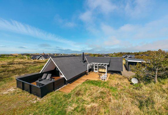 Energiefreundliches Ferienhaus für 5 Personen mit Whirlpool