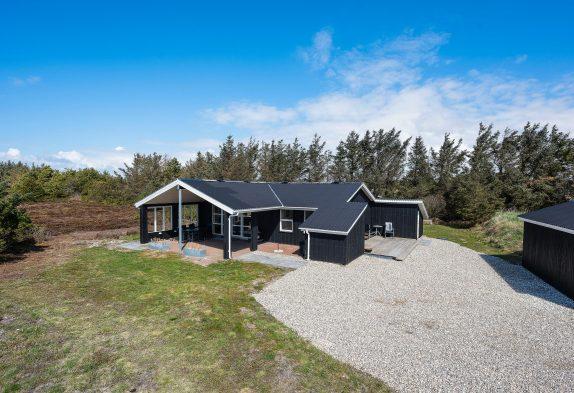 Totál Renoviertes Sommerhaus mit Sauna und Kamin für 6 Personen