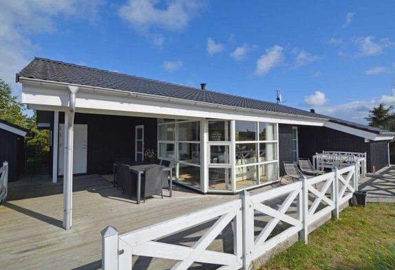 Modernes Ferienhaus für 6 Personen mit Whirlpool