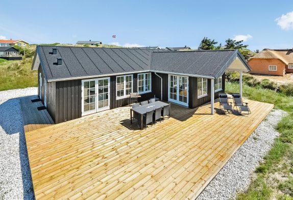 Helles und charmantes Ferienhaus mit toller Terrasse