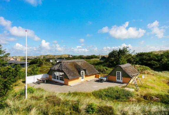 Gemütliches Ferienhaus mit großen Terrassen