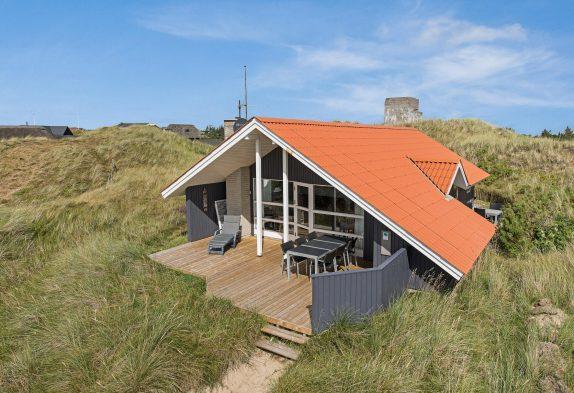 Schönes Ferienhaus in ruhiger Lage und toller Terrasse