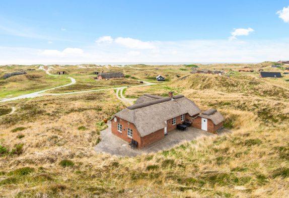Ferienhaus in toller, strandnaher Lage mit Whirlpool und Sauna