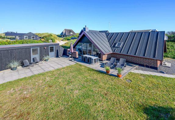 Energiesparendes Ferienhaus nah der Dünen in Houvig