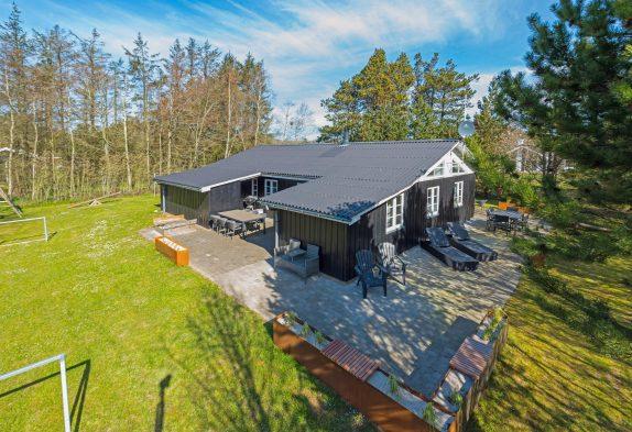 Gemütliches Ferienhaus für 8 Personen und Hund in Lodbjerg Hede