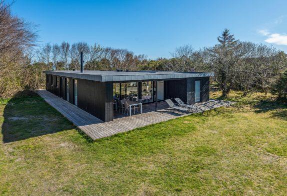 Renoviertes Ferienhaus in Lodbjerg Hede mit Badetonne und Sauna