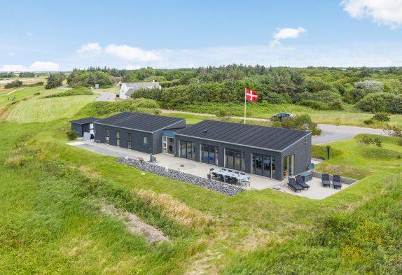 Ferienhaus am GolfplatzLodbjergHedemitAußenwhirlpool