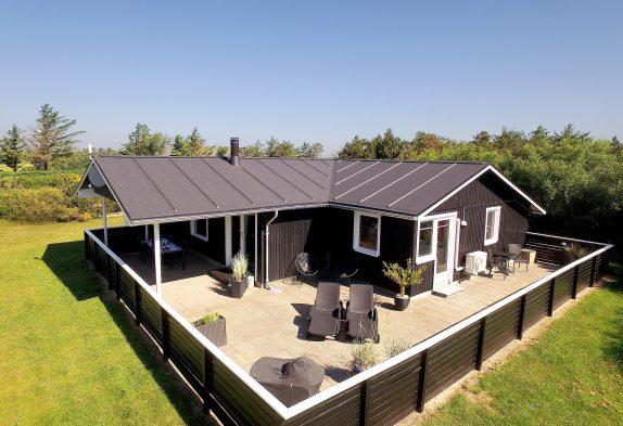 Romantisches und gut eingerichtetes Ferienhaus mit Whirlpool