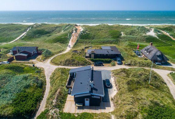 Modernes Ferienhaus für 4 Personen nur 100m zum Strand