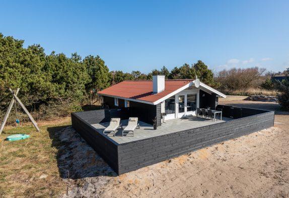 Ferienhaus mit geschlossener Terrasse ? ideal mit Hund