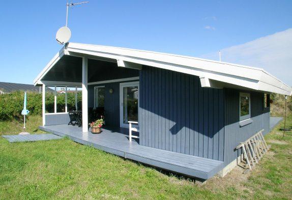 Kleines Ferienhaus an der Nordsee im Zentrum von Søndervig
