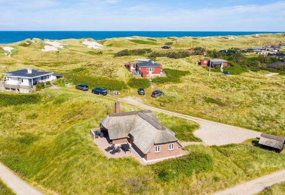 Ferienhaus auf Dünengrundstück mit tollem Blick