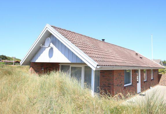 Gepflegtes Ferienhaus, dicht am Strand und Søndervigs Zentrum