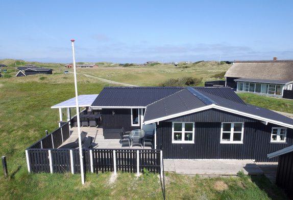 Gemütliches Holzferienhaus mit schöner Terrasse
