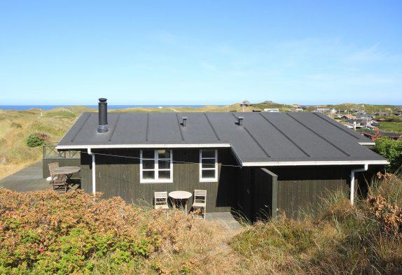 Ferienhaus mit Panoramablick über die Nordsee