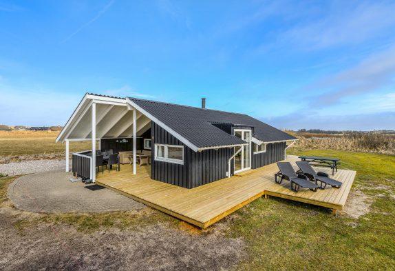 Attraktives und sehr gut ausgestattetes Ferienhaus in Søndervig