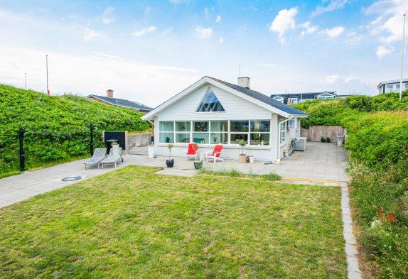 Strandnah, zentral inSøndervigliegendes Ferienhaus für Zwei