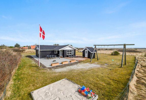 Schönes Ferienhaus für Familie mit Kindern inSøndervig