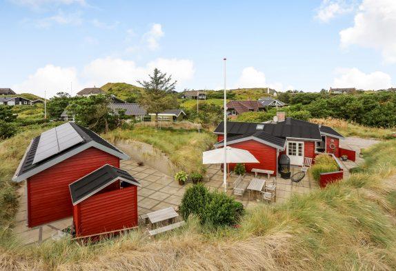 Charmantes Ferienhaus inSøndervigmit Sauna – 500 m zum Meer!